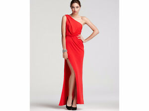 BCBG Red Prom Dress Gown size 2