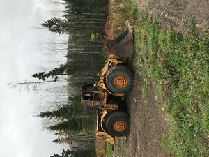 Parting out a 1973 988 Cat Loader