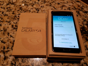 Samsung Galaxy S5 Smart Phone Black