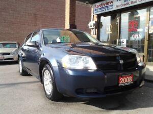 2008 Dodge Avenger NO ACCIDENT,AUTO,AIR,ALLOYS,P/ W,P/L.$2999