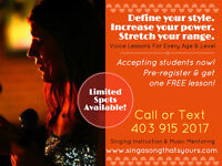 Voice Lessons For Everyone!