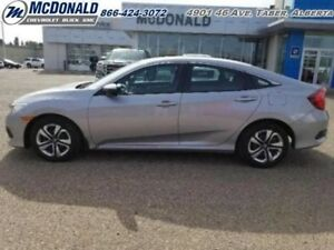 2017 Honda Civic Sedan LX  - Certified - A/C -  Bluetooth - $135