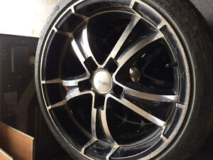 """18"""" rims and tires Prince George British Columbia image 1"""