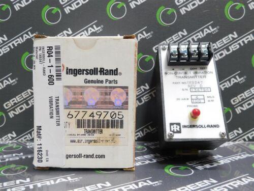 NEW Ingersoll-Rand IX9247 Non-Contact Vibration Transmitter 20mA = 4 MILS/100μM