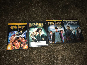 Harry-Potter 1-4