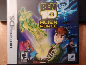 DS - Ben 10 Alien Force