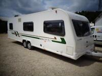 Bailey Retreat Sycamore 2012 6 Berth Fixed Bed Twin Axle Caravan