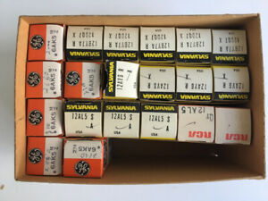 Electronic tubes, Vacuum tubes, New old stock (NOS)
