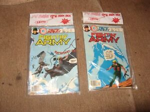 two original sealed kids comic book sets -archie and army