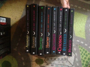The House of night series.