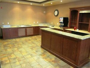 Bar with Granite Counter & Hutch - Beautiful - Nice Pieces Cambridge Kitchener Area image 6