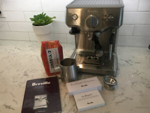 Breville Duo-temp Pro Espresso Machine ONLY 3 MONTHS OLD