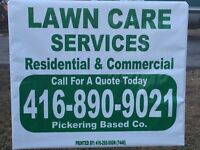 Lawn Care Services PICKERING