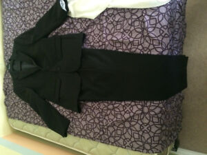 Mens 2 piece suit, shirt and shoes