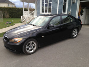 2008 BMW 3-Series Cuir Berline