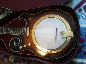 Gold Tone Electric Banjo