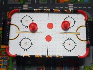 Portable Air hockey table.