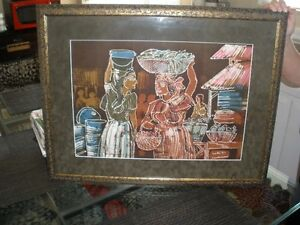 FRAMED PICTURE WITH GLASS