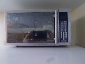 Microwave good working condition, clean