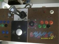 arcade controls for mame with ipac and optipac controlers