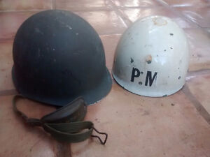 Spanish Army M1 Helmet clone M65 with liner Policia militar