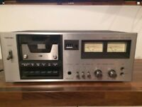 Vintage Toshiba Cassette Deck Model PC-230 SPARES REPAIRS NOT WORKING