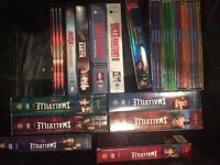 DVDs. Smallville, Family Guy, Grey's Anatomy
