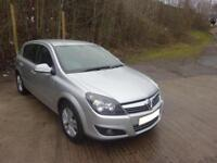 2009 '59' VAUXHALL ASTRA 1.6 SXi 5 DOOR HATCH IN MET SILVER 70,000 F,S,H,