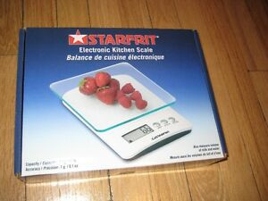 New Starfrit Electronic Kitchen Scale