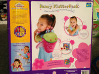 FANCY FLUTTER PACK ( BACK PACK WITH WINGS FOR GIRLS (NEW )