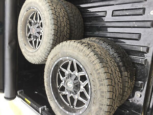 8x170 superduty rims and tires