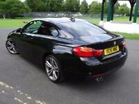 BMW 4 SERIES 420D M SPORT COUPE 2015/15