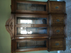 China Cabinet. Pick up only