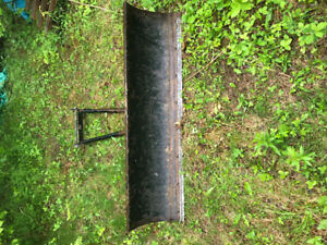 5ft Quadrax ATV plow and bracket for can am outlander