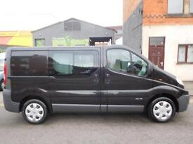 Stunning Renault Trafic swb factory fitted 6 seat crew van ONLY 75859 (21)