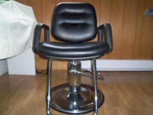 chaise de coiffeuse hydrlique