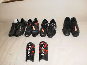 3 pairs of kids soccer shoes  ....  $2.00 each or $6.00 for all