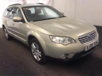 2008 Subaru Outback 2.5 SEn 5dr (Nav, leather) Petrol gold Automatic