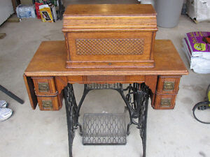 144 year old Coffin Top Singer Sewing machine