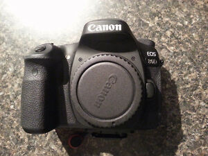 canon 80d w/ new 18-135 lens extra lens also avaiable