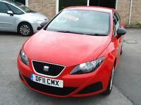 2011 Seat Ibiza 1.2TD SportCoupe S **£20 Tax / Low Insurance**