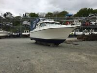 23ft boat original Volvo Penta 130hp tdi engine