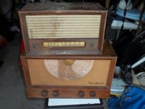 2 Antique Radios