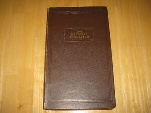 Vintage National Coin Album by Wayne Raymond REDUCED!!