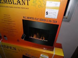 Fire Place Wall Mount Curved $ 235.00 TAX INCL> Call 727-5344