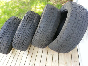 Four Winter Tires for Van/Truck - 225/60 - R17