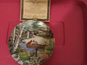 Limited Edition Collectors Plate