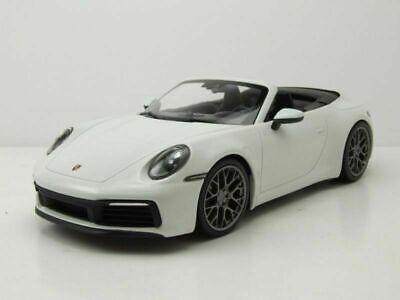 Porsche 992 (911) Carrera 4S Cabrio weiss 2019 - 1:18 Minichamps lim.504 Stk