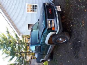 1998 gmc 2500 plow truck