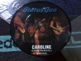 """STATUS QUO. 7"""" SINGLE"""
